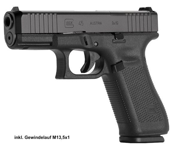 Glock 45 MOS FS SD Pistole